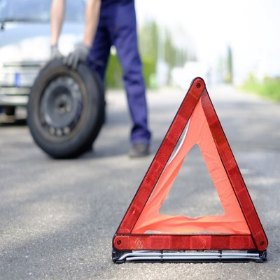 Roadside Assistance Tire Change